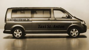 Our taxi cabs St. Anton